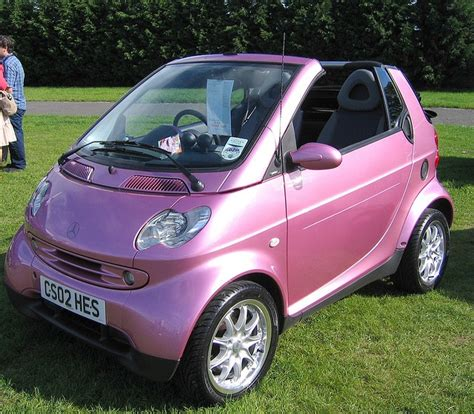 smart car pink pink convertible smart car smart cars oh so small
