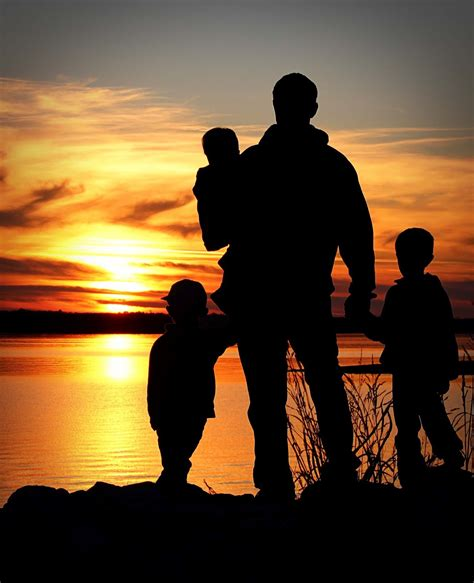 fathers and children family silhouette photography my absolute favorite if i could find a photographer picture