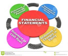 financial statements stock photography   image 28845002