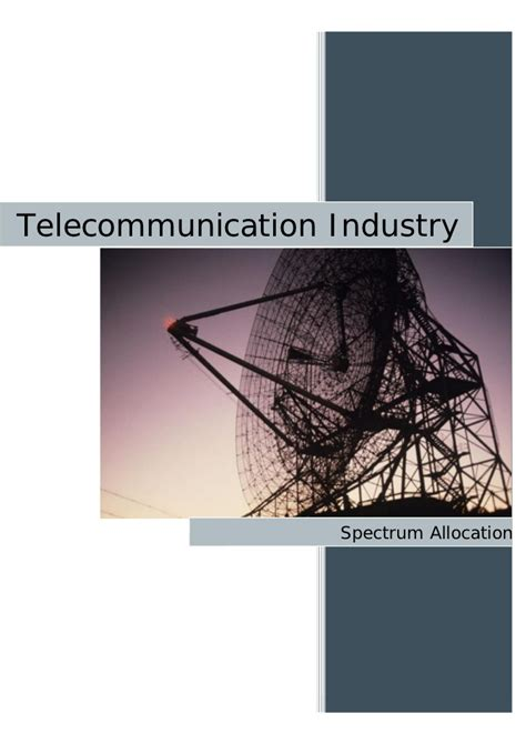 Mba Ppt On Telecommunication Industry by Indian Telecom Industry