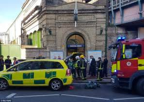 explosion reported on district line at parsons green