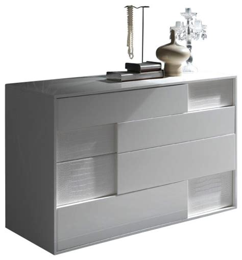 modern bedroom dressers and chests nightfly dresser white modern dressers by inmod