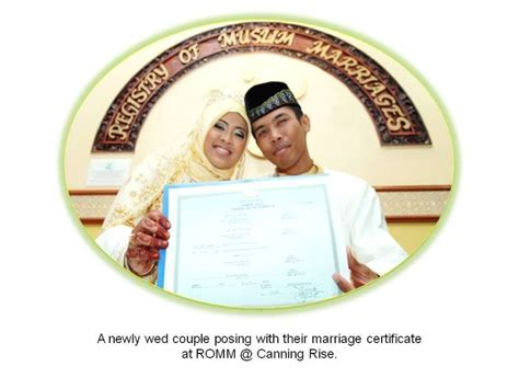 Record Of Solemnization Of Marriage Registry Of Muslim Marriages About Romm Romm Photo Albums 01