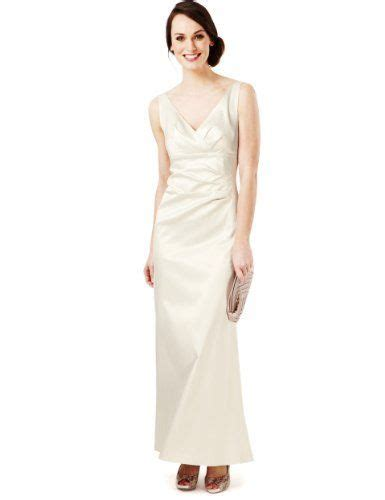 marks and spencer wedding dresses m s collection v neck pleated maxi dress marks spencer