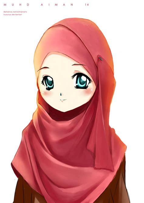 anime islami images  pinterest hijab cartoon