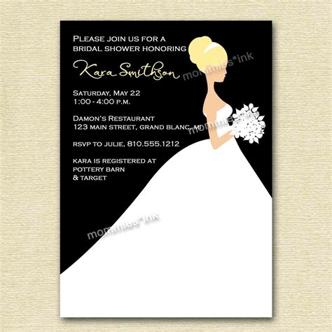 wedding shower invitation template invitation templates