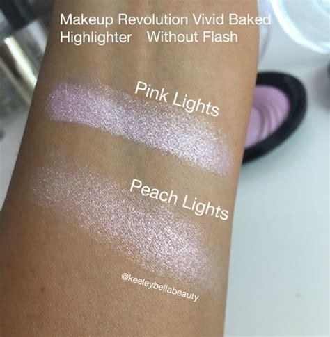 Makeup Revolution Baked Eyeshadow makeup revolution baked highlighter lights makeup