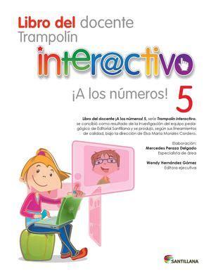 calam 233 o libro del docente a los numeros 5