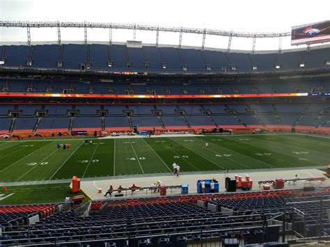 sports authority field sections sports authority field section 124 rateyourseats com