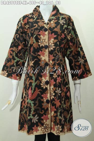 Fashion Wanita Dress Caroline Xl Dr Dress Wanita Spandek Fna batik tulis dress wanita model terbaru batik tulis