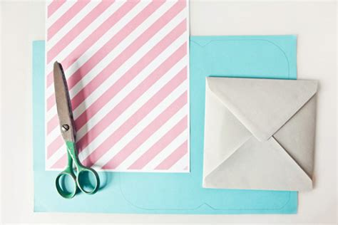 how to make your own envelope liners celebrations blog diy 4 make your own envelopes bloved blog