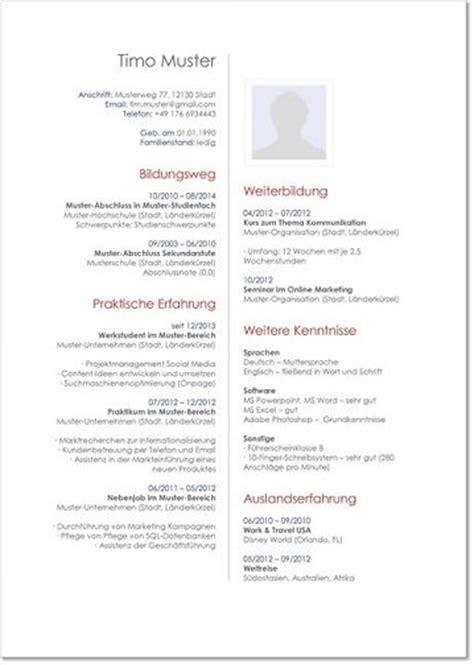 Aufbau Tabellarischer Lebenslauf 2014 layout tabellarischer lebenslauf deckblatt bewerbung 2018