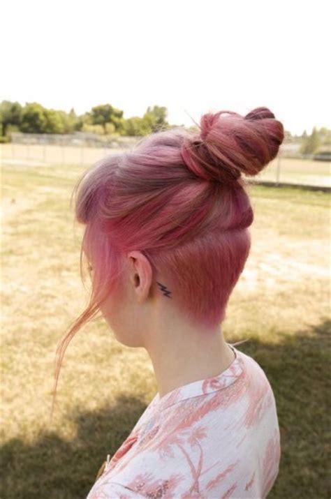 women shave pubic hairbun style meaning undercut feminino o que 233 e estilos