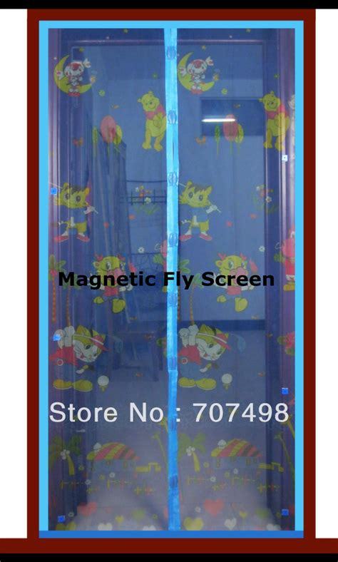 Magnetic Insect Screen Minimalis free shipping insect screens insect fly mosquito door net insect door magnetic insect screen