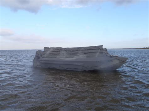 best duck hunting boat for big water diver duck hunting in panama city fl