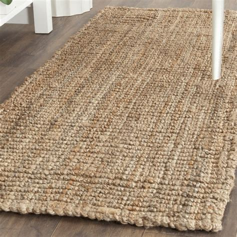 6 x 8 jute rug safavieh fiber woven chunky jute runner rug 2 6 x 8 free shipping today