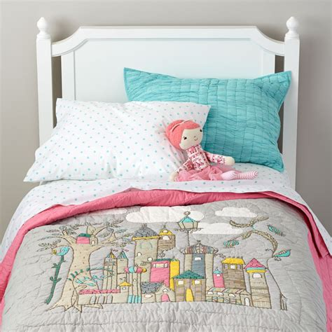 land of nod bedding girls bedding sheets duvets pillows the land of nod