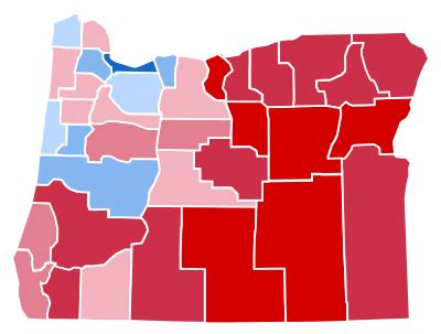 united states presidential election in oregon, 2016