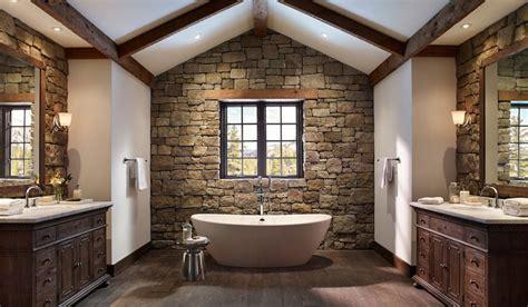 Kitchens And Bathrooms Rock by Foto Di 25 Bagni Rustici Per Idee Di Arredo Con Questo