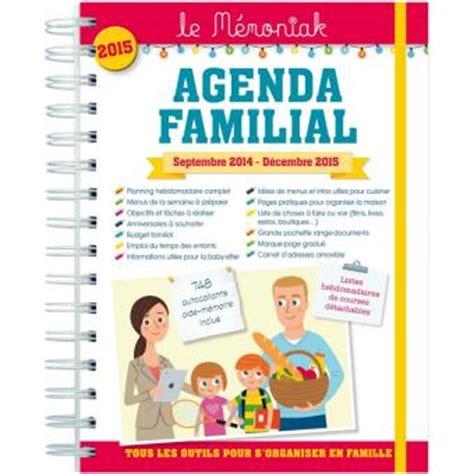 Agenda Familial Le Memoniak Broch 233 Collectif Achat