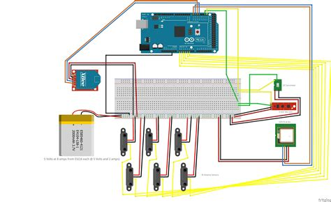 wiring arduino quadcopter wiring free engine image for