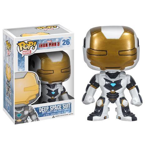 Iron Booblehead space suit iron 3 pop vinyl pop marvel pop price guide