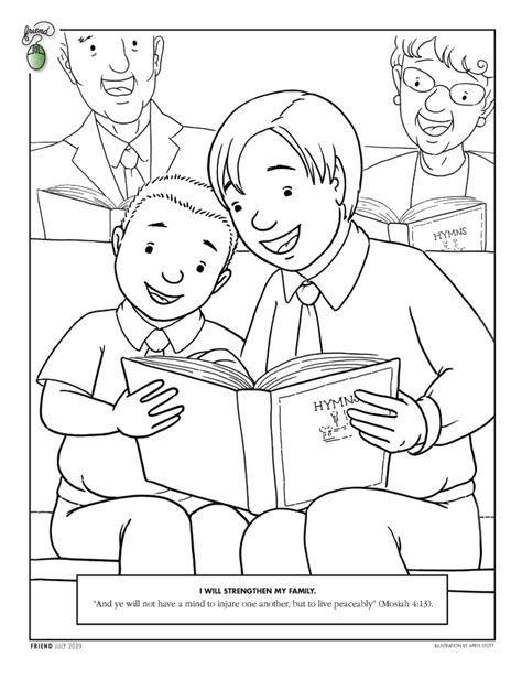 coloring pages lds church lds coloring pages 2014 lessons and quotes