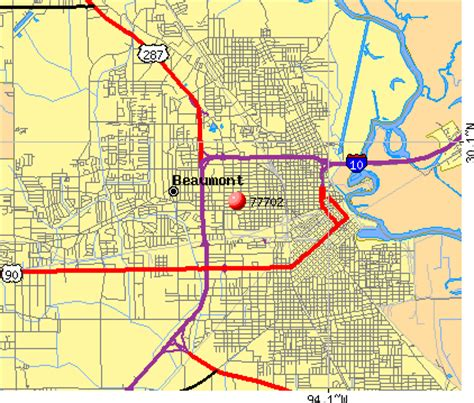 beaumont texas zip code map map of beaumont tx my