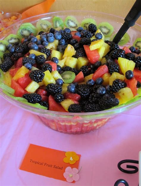 Fruit Salad Ideas For Bridal Shower by Chelsea S Bridal Shower Lolly S Sweet Savory Treats