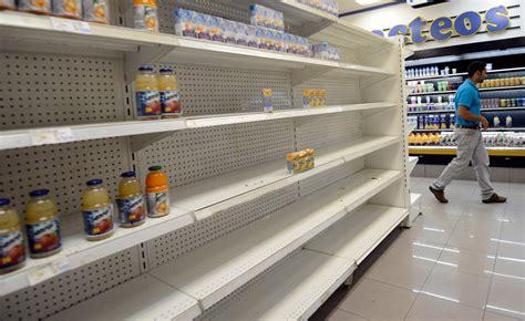 imagenes de venezuela escases bcv reconoce problemas de abastecimiento y reporta 29 4
