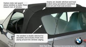 bmw convertible window replacement