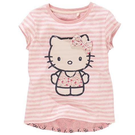 hello kitty t shirt aliexpress com buy baby girls cartoon hello kitty t