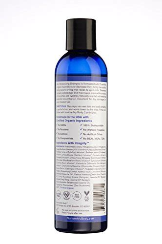 best sulfate free shoo for color treated hair 100 all and organic moisturizing shoo by