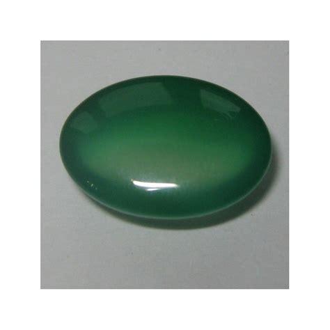 Batu Akik Kalsedon 155 batu mulia chalcedony hijau oval cabochon 11 80 carat