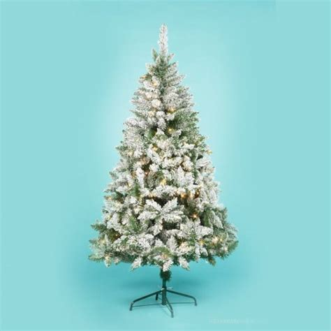 half price christmas trees asda inc 6ft led pre lit
