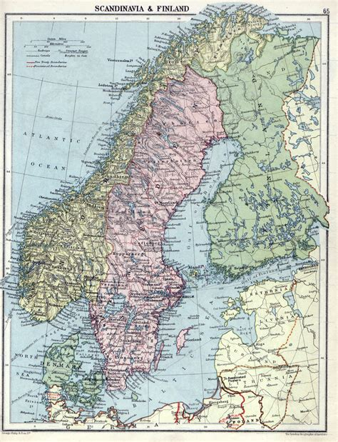 map of scandinavian countries maps of baltic and scandinavia detailed political