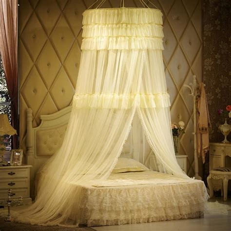 canopy curtains luxury mosquito net for double bed princess lace palace