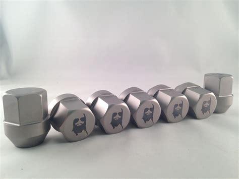 custom titanium lug nuts  complete   guys