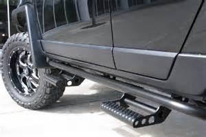 Jeep Side Rails Chevy Silverado Nerf Bars Side Steps And Rock Rails Html