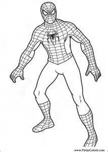 zeichnungen zu malen und farbe spiderman print design 007
