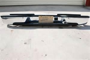 Chevrolet Silverado Rear Bumper Rear Bumper 2003 2007 Chevy Silverado Gmc 2500hd