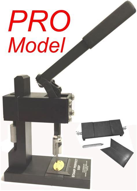 How To Make Magnetic Jewelry - stamp perfect ssp hand stamp machine