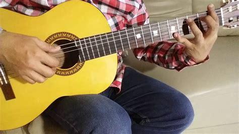 tutorial bermain gitar fingerstyle romaria mama kaulah bintang tutorial fingerstyle dan