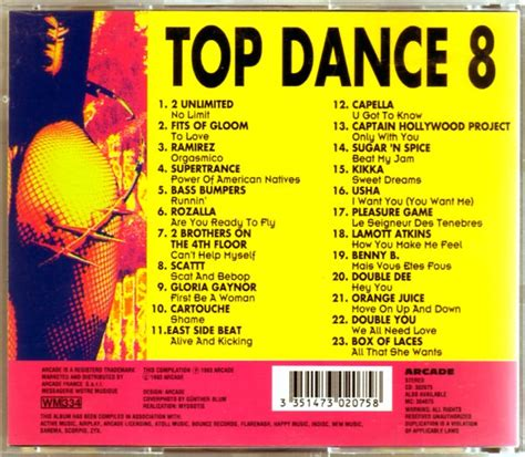 best compilation compilation top 8 cd eurodance 90 cd shop