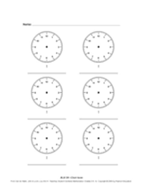 Blank Clock Worksheets by Search Results For Blank Clock Faces Worksheet