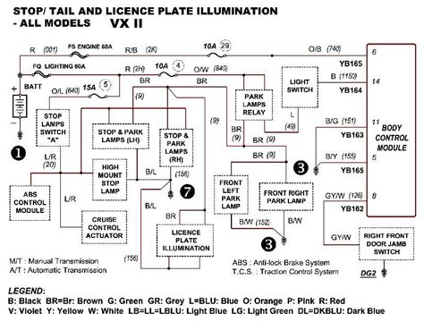 vs commodore ute stereo wiring diagram wiring diagram manual