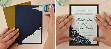 how to make wedding invitation cards wedding invitation design diy images invitation sle