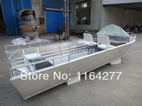bow steering boat 14 feet all welded hull aluminum boat with bow steering