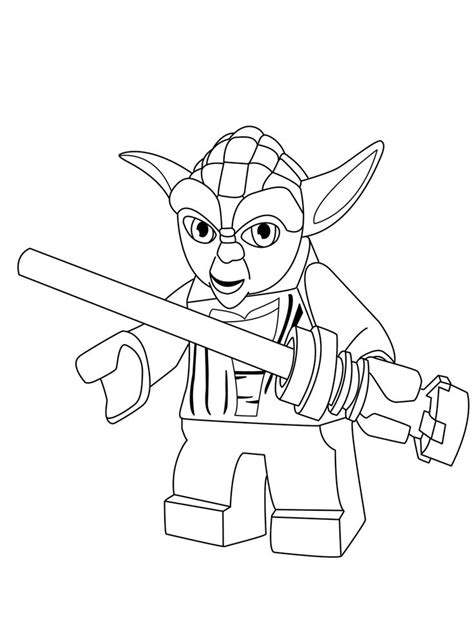 cute yoda coloring pages yoda thinks coloring page color pages pinterest