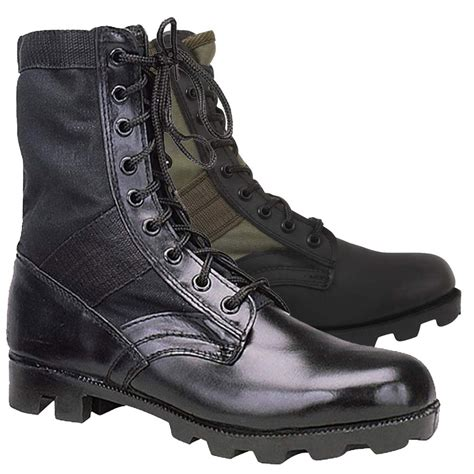 s jungle boots black olive jungle boots